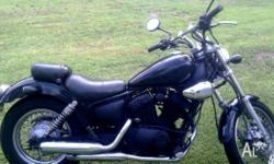 Very reliable, great first bike. Allot of work done and