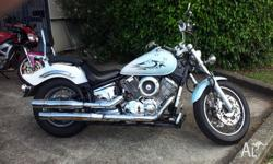 Reasonably priced shaft drive 1100cc cruiser. Recent