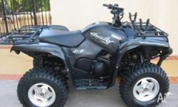 2008 700CC YAMAHA GRIZZLY SPECIAL EDITION. 98 HOURS,