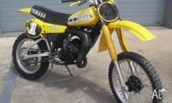 tock item 490 Beautiful low hour YAMAHA YZ125G Was told