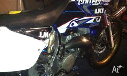 GENUINE YZ144 6 hours on complete motor rebuild by axis