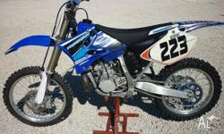 YZ250 Two Stroke in excellent condition, 9.7hrs since
