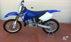 Yamaha YZ 250 2010 model. Bike hardly ridden and in