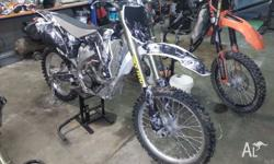 Off Road dirt bike. Well looked after. Very good to