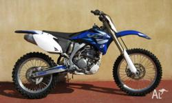 YAMAHA,YZ250F,2006, MOTOCROSS, .2, 1cyl, 5 SPEED