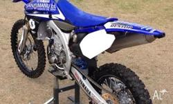 Up for sale is my 2010 fuel injected YZ450F with approx