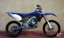 YAMAHA,YZ450F,2010, MOTOCROSS, .4, 1cyl, 5 SPEED