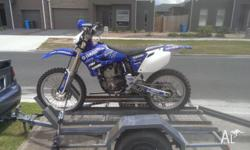 Up for sale is my yamaha yz450f 2005 model. I have