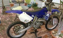 Selling my YZ250 2008 model due to working away and