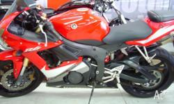 YAMAHA,YZF-R6,T,2005, RED, SPORTS, 599cc, 91.7kW, 6