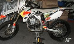 hi have a 2010 yzf 450 big bore for sale never raced