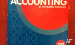 SELLING A USED ACCOUNTING:AN INTRODUCTORY FRAMEWORK IN