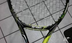 This racquet is in as new condition (no scaratches),