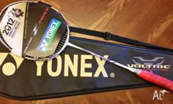 YONEX BADMINTON RACKET: VOLTRIC Z FORCE LIMITED EDITION