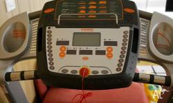 Great treadmill that has been rarely used. It is in a