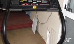 York Treadmill Decent Condition Goes well Sturdy
