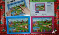 Kids Ypad Funny Farm Computer. Available in Pink or