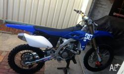 Up for sale is my 2011 Yz250f. Approx 35 hours , DC