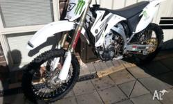 yz450 yamaha yz 450f limited edition white swap wr 450