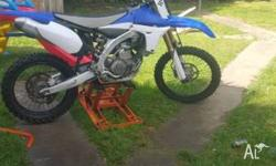 YZF 450 2010 LOOKING TO SWAP FOR THE SAME YEAR BIKE KXF