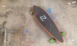 For sale is my z flex longboard! Has been used but not