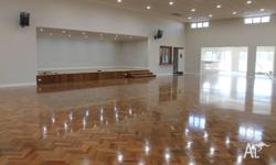 - Floor sanding and polishing - Installation of timber