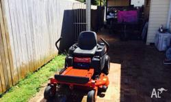 Zero turn mower- toro- 42 inch cut- as new condition-