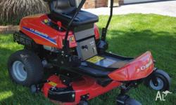 "Simplicity Zero Turn 20 HP 42"" Deck, Briggs and"