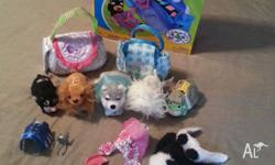 For Sale: 5 Zhu Zhu Pets 6 Outfits/Accessories Grocery