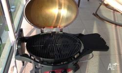Ziegler and Brown twin grill BBQ 10 months old Very