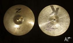 Zildjian KZ 13in Hi-hats Signed by KISS's Drummer THESE