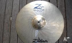 Zildjian Z-custom medium crash 18 inch, in excellent