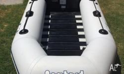 Zodiac bombard inflatable 2.7 metres with 3.3 mercury