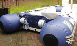 Zodiac Inflatable Cadet Compact Rib 2.5m in excellent