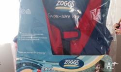 Brand new in packaging Zoggs swim-sure safety vest, for