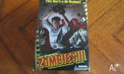 Board game about a zombie apocalypse. Includes all