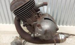 this is a restorable Zundapp KM 50 moped engine. The