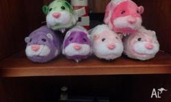 I have 5 zuzu pets for sale They are $ 5 each I ship